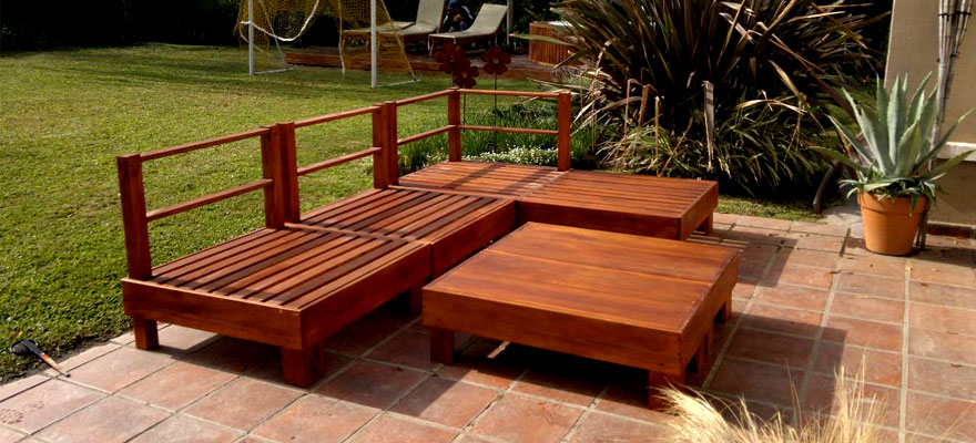 Dise amos muebles de jard n de madera en aranjuez - Mubles de jardin ...